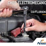 Chef électromécanicien offre emploi job bretagne lorient